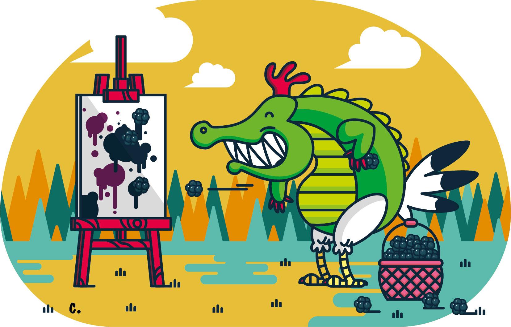 illustration-crocoule